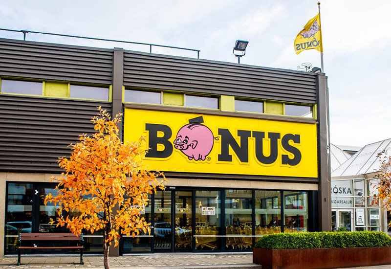 Bonus supermarkten in IJsland