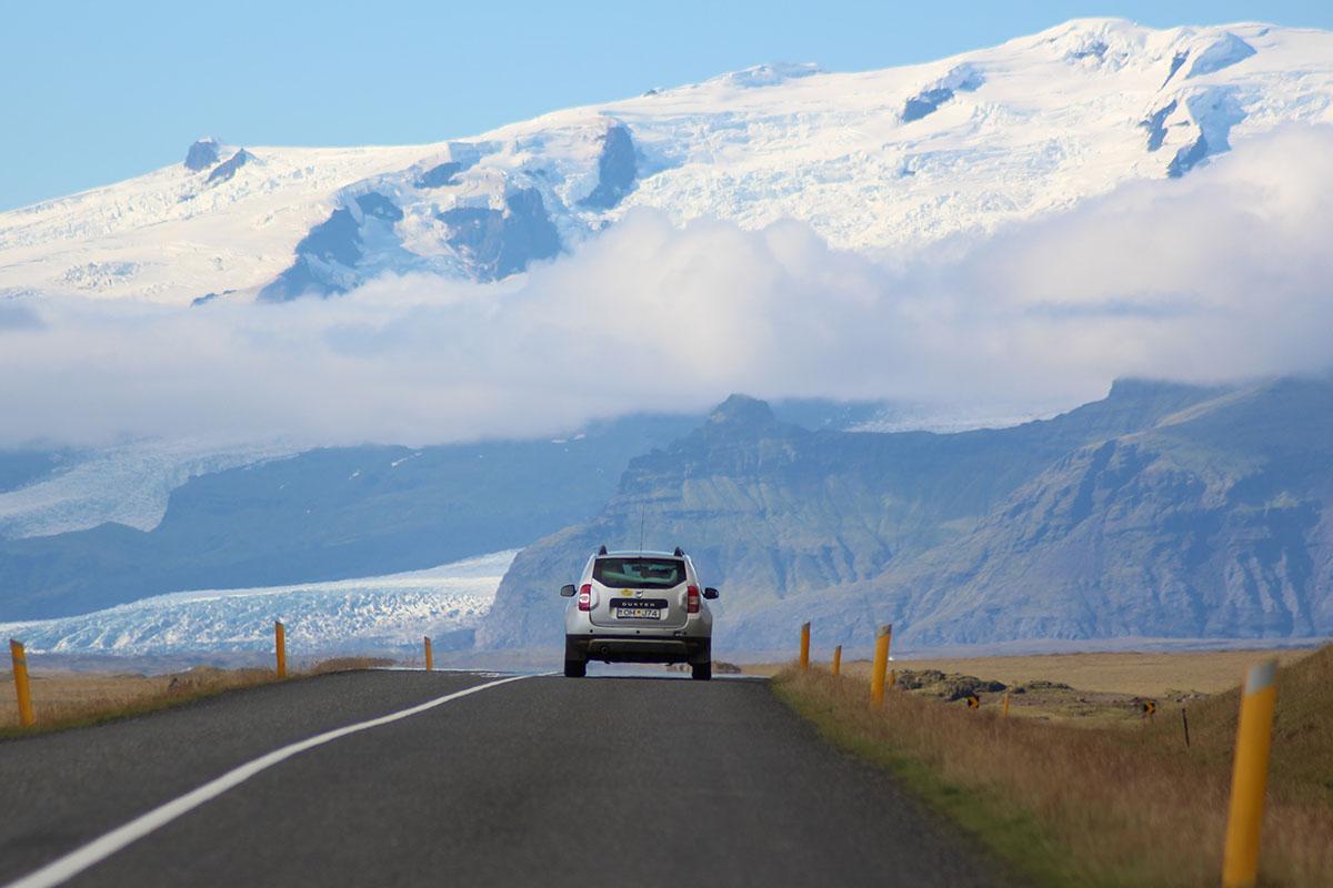 Auto rijden in IJsland