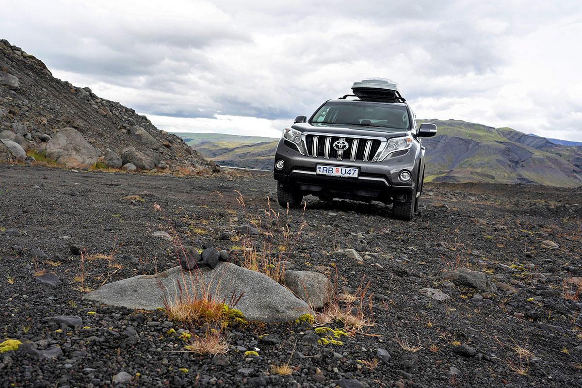 4x4 huren in IJsland