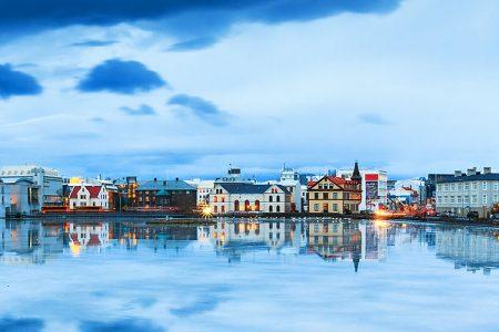 Reykjavik in IJsland