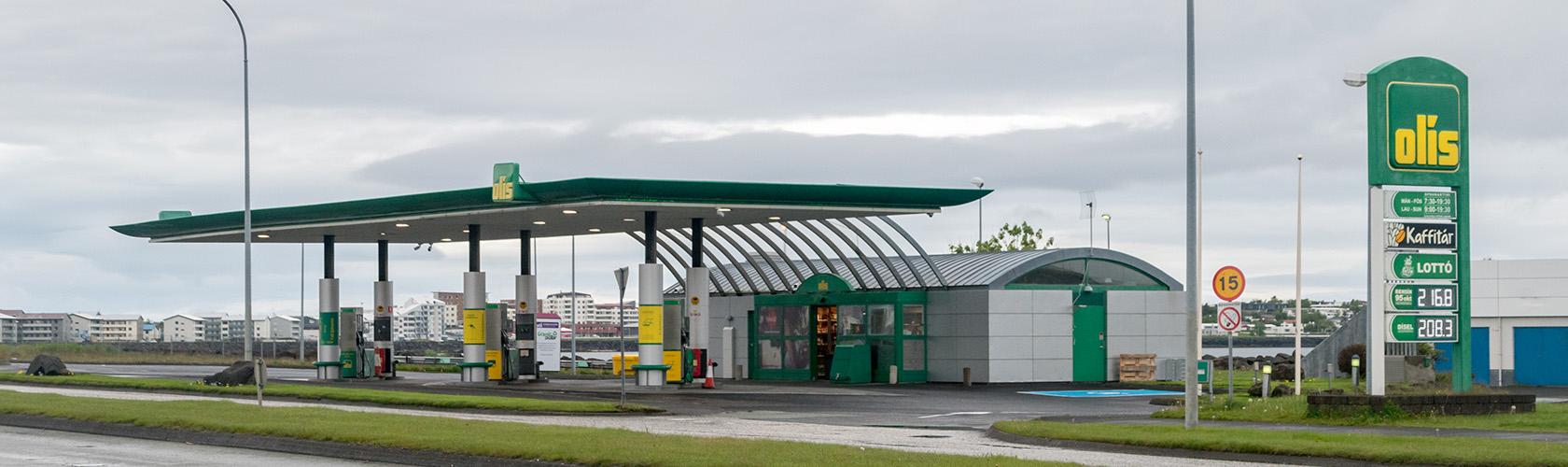 Tanken en tankstations in IJsland