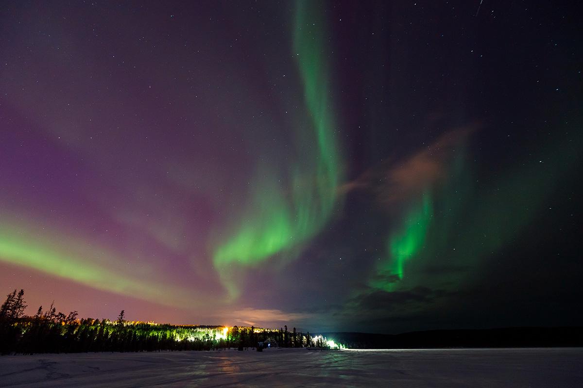 Het Noorderlicht in IJsland