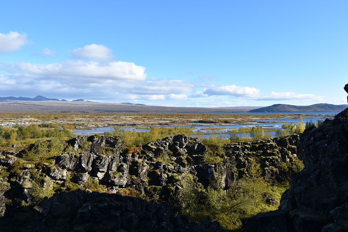 Thingvellir National Park in IJsland