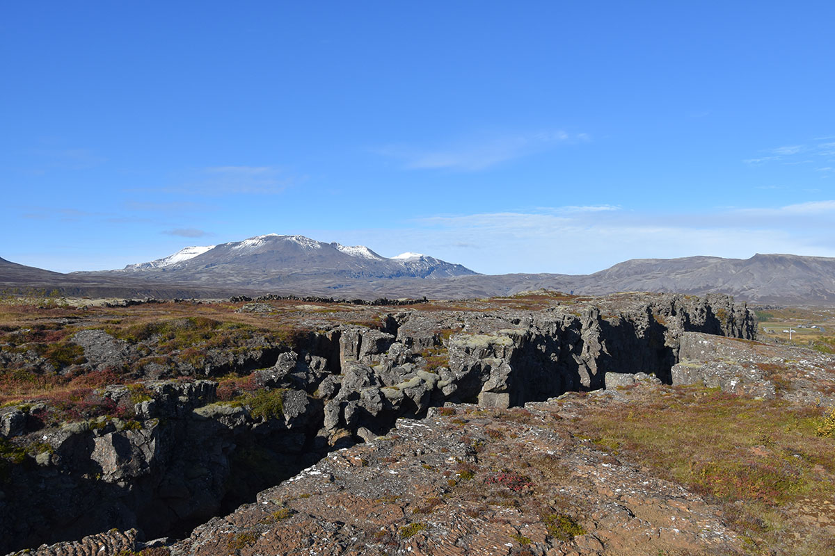 Het Thingvellir National Park in IJsland